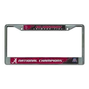 NCAA Alabama Crimson Tide 2011 BCS Champions Chrome
