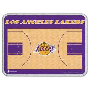 Los Angeles Lakers 11 x 15 Glass Cutting Board