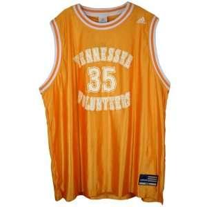 Adidas Tennessee Volunteers #35 Orange Replica Basketball