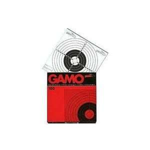 Gamo Air Gun Paper Targets 621210654 Bulls Eye 100 Pack