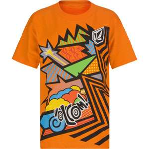VOLCOM Comicazee Boys T Shirt 148354700  graphic tees