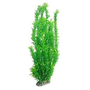 Como Green Plastic Plants Decor Aquarium Tank Aquascape: Pet Supplies