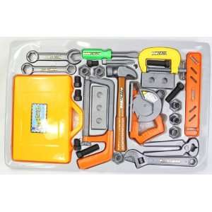 Construction Set Great Quality with Battery operated Saw Toys & Games