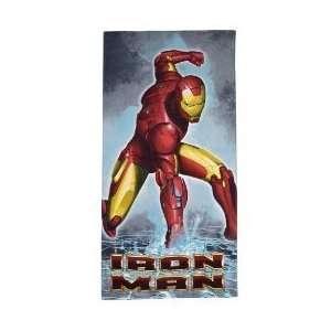 Iron Man Beach Towel