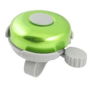 Como Bike Bicycle Bell Ring Round Green Gray Plastic Sound