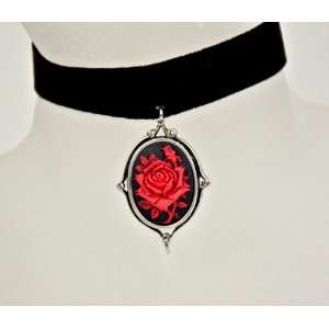 Vine Cameo Velvet Choker Jewelry Anime Black Antique: Everything Else