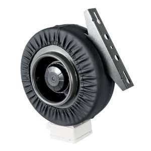 com 6 Inline Fan 440 CFM Hydroponics Inline Duct Fan Exhaust Blower