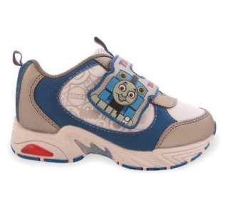 Friends Tank Engine Train Toddler Velcro Athletic Blue Shoes Shoes