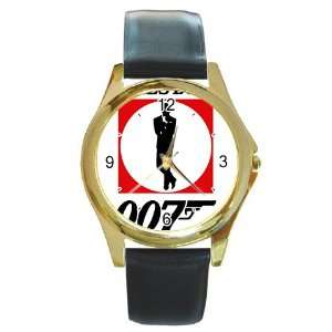 JAMES BOND 007 v1 Gold Metal Watch