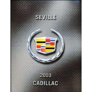 Cadillac Seville STS Original Canadian Sales Brochure