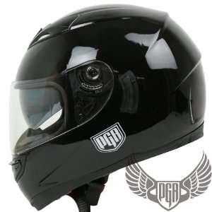 PGR Dual Visor Full Face Motorcycle Helmet DOT Approved