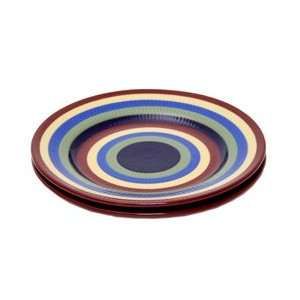 Bright Multi Color Luncheon Plates