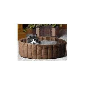 MFG 025KHM 3131 Large Kitty Kup Cat Bed   TanM ocha