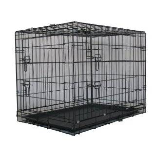 Door Dog Pet Bed House Folding Metal Crate Cage Kennel by Go Pet Club