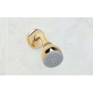 .002 Easy Clean Brass Showerhead, Polished Chrome Home Improvement