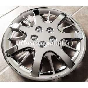 Chevrolet Impala Style 16 Inch Chrome Hubcaps Wheel Covers Automotive
