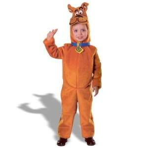 Rubies Costumes Scooby Doo Deluxe Child Costume / Brown   Size Toddler