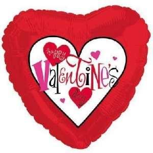 Valentines Balloon  18 Valentines Day Fancy Type  Toys & Games
