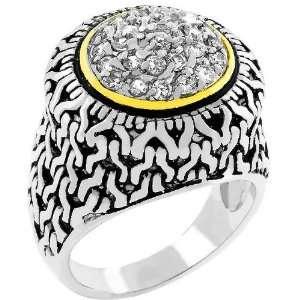Cubic Zirconia Crown Fashion Jewelry Ring Jewelry