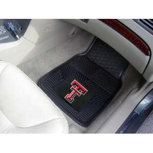 Tech Red Raiders Vinyl Car/Truck/Auto Floor Mats
