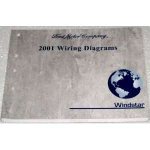 2001 Ford Windstar Wiring Diagrams Ford Motor Company Books