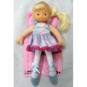 Cuddly 12 Soft Vinyl and Stuffed Body Ballerina Doll: Toys & Games