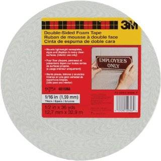 IIT 3 Pack Double Sided Foam Tape 3MM Thick Arts, Crafts
