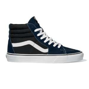 Vans Shoes Sk8 Hi   Dress Blues/Black:  Sports & Outdoors