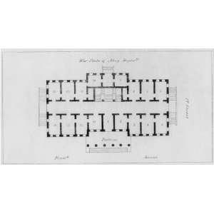 State,War & Navy Department,Floor Plan,Washington,DC