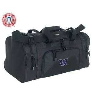 Luggage Washington Huskies Black Sport Duffle Bag