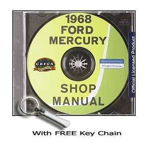 1968 Ford & Mercury Big Car Repair Shop Service Manual CD