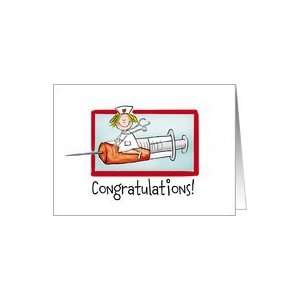 Nurse Graduation congratulations Card