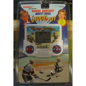 Gretzky & Brett Hull   Shootout Hockey LCD Handheld Game Toys & Games