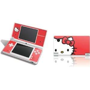 Skinit Hello Kitty Cropped Face Red Vinyl Skin for DSi Electronics