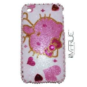 Hello Kitty iPhone 3G/3GS Case #34 Cell Phones & Accessories