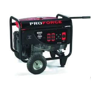 6,000 Watt 12 HP Portable Generator PM0106000 Patio, Lawn & Garden