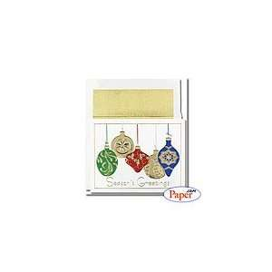 Century Collections   Colored Ornaments Mini   8 x 5 3/4
