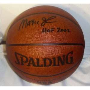 Magic Johnson Autographed Indoor/Outdoor Basketball with