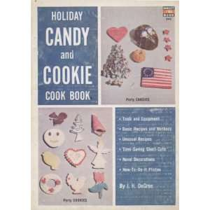 Holiday candy and cookie cook book, (Arco do it yourself
