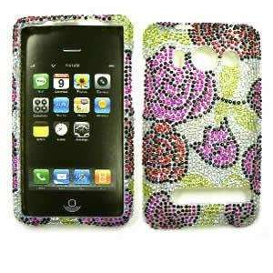 HTC EVO 4G Full Crystal Diamond / Rhinestone / Bling Pink