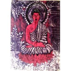 Lord Buddha Indian Gods Yoga & Meditation Fabric Tapestry