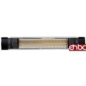 BLACK INFRARED 1500W ELECTRIC HOME SPACE PATIO HEATER