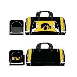 Iowa Hawkeyes Duffel Bag   Flyby Style