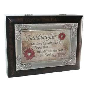 Granddaughter Cottage Garden Italian Inspired Music Box Plays You You