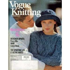 Vogue Knitting International   Spring/Summer 1990 (Master Knitters Of