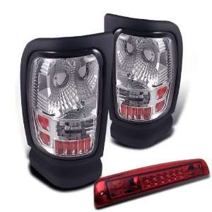 94 01 Dodge Ram Altezza Tail Lights + Led 3rd Brake Lights Brand New