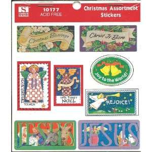 Christmas Blessings Stickers (10177) Toys & Games
