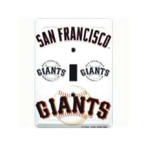 San Francisco Giants Light Switch Cover