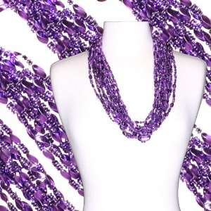 33 in Twist Metallic Mardi Gras Beads Case Everything Else