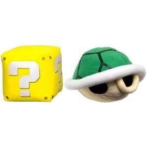 Super Mario Bros Plush With Sound Set Of 2 Toys & Games